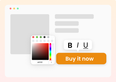 Customizable CTA Buttons