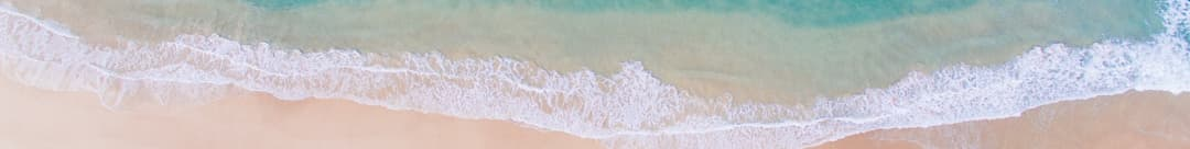 Picture of a beach from overhead