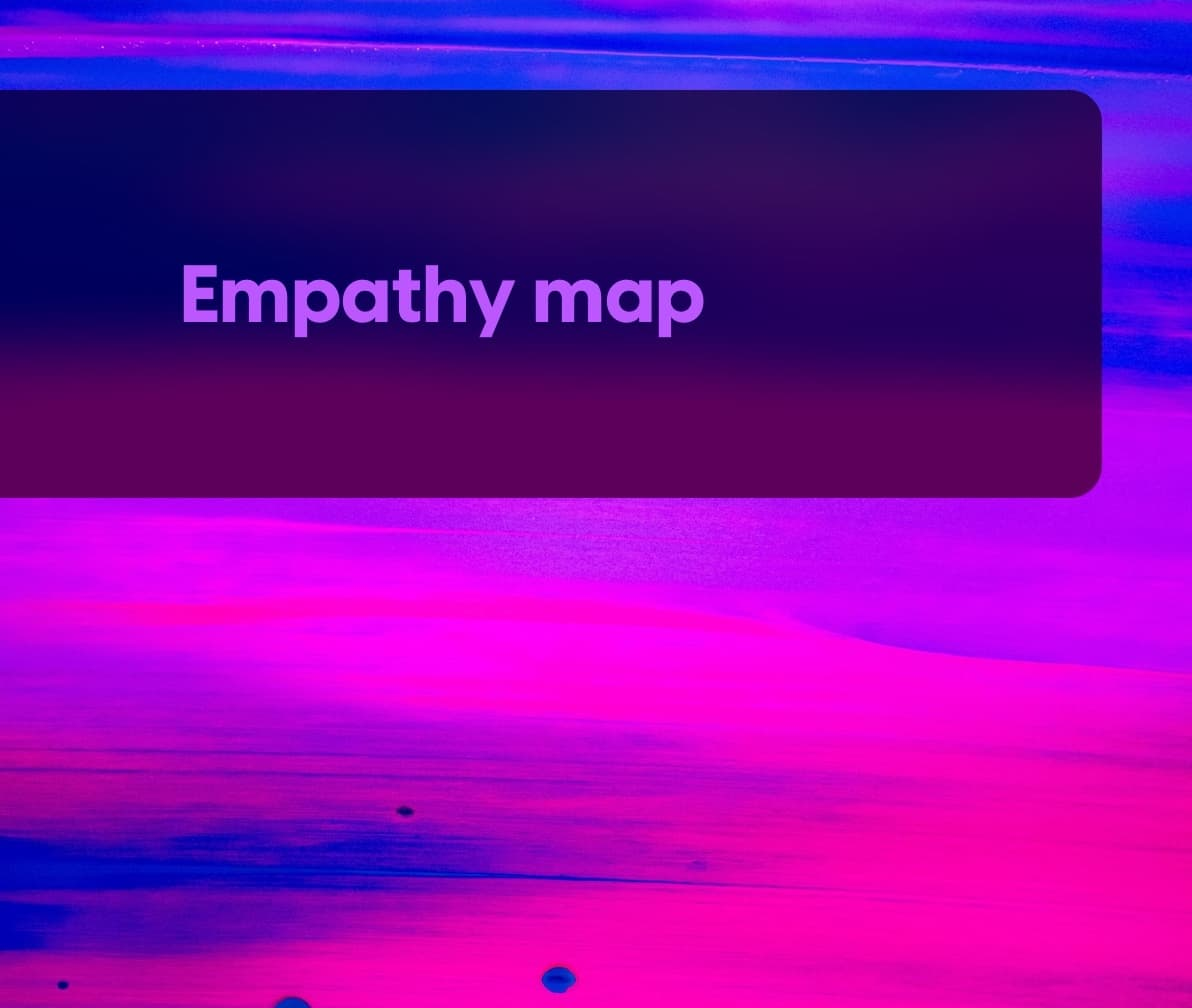 Empathy map template cover image