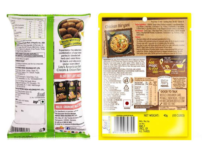 fssai packaging and labelling regulations