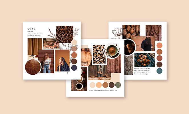 Mood board - Ultimate Glossary of Packaging Terms