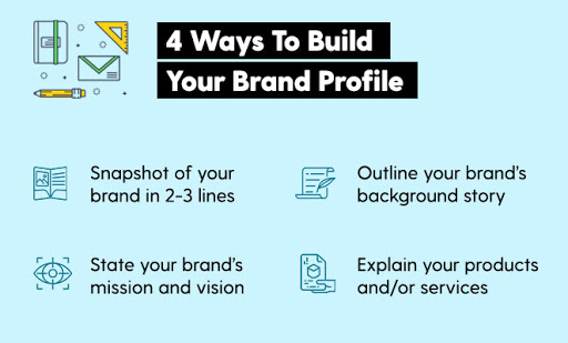 how to build brand profile