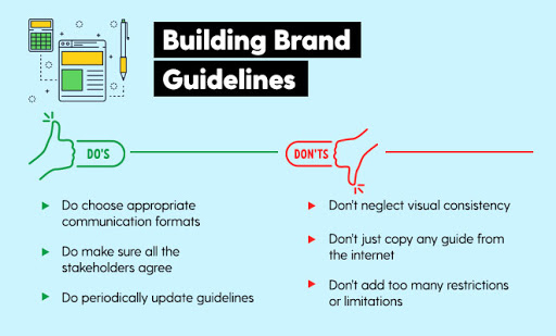 how to build brand guidelines