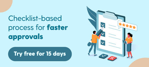 Checklist-based process for faster approvals - Try free for 15 days (ArtworkFlow)