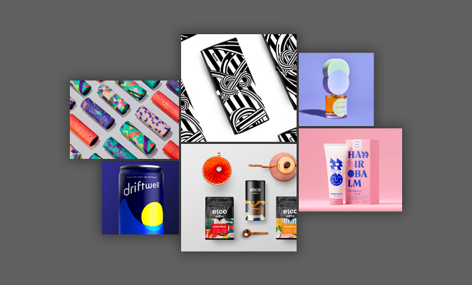 10 graphic design trends - abstract designs
