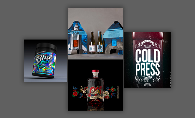10 graphic design trends - 3D designs
