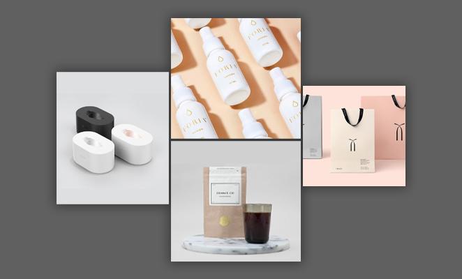 10 graphic design trends - minimalistic designs