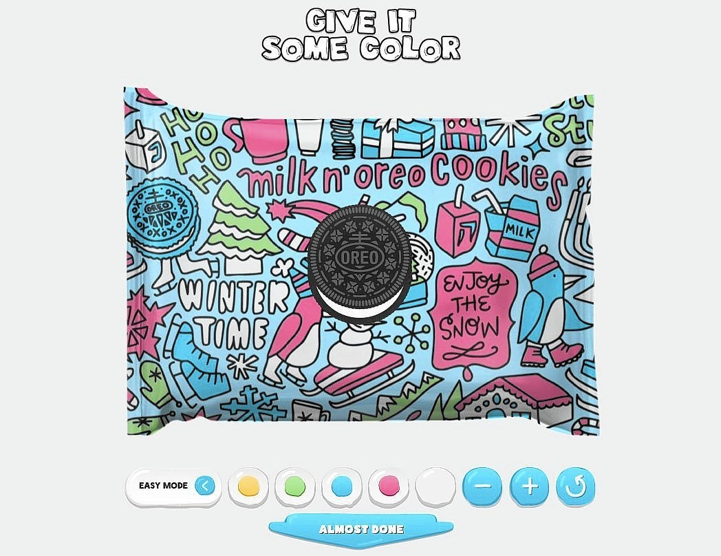 personalized packaging - oreo