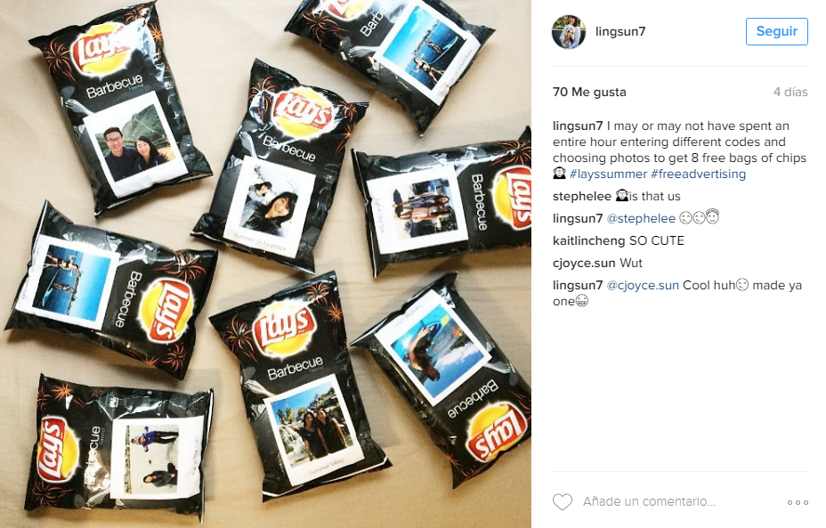 personalized packaging - frito lays