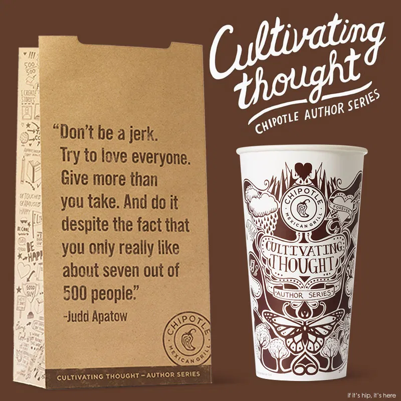 personalized packaging - chipotle