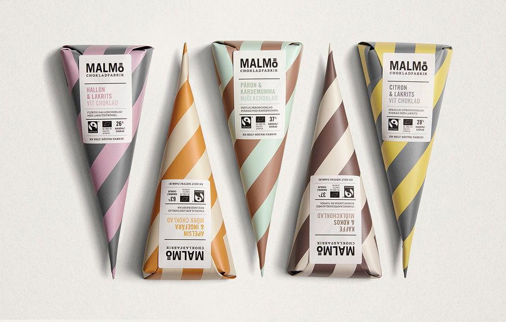 chocolate product label design idea