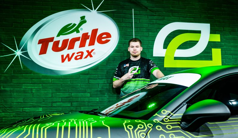 example of turtlewax using esports gamers to sponsor their brand