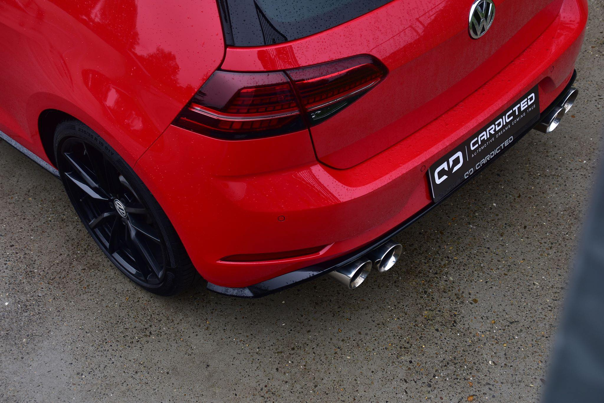 Golf 3 Armytrix Exhausts