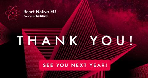 React Native EU 2020 Virtual Edition – Summary