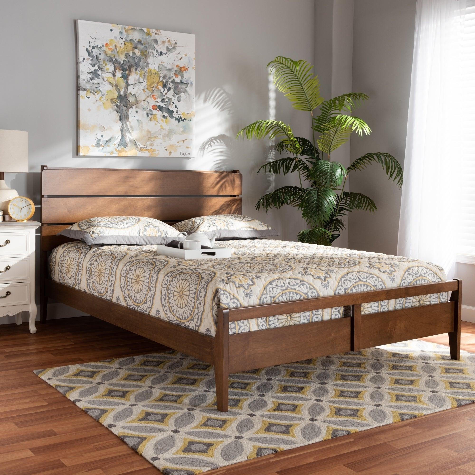 Cách chọn mua giường gỗ 1m6 cho gia đình mình