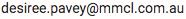 Desiree Pavey email address