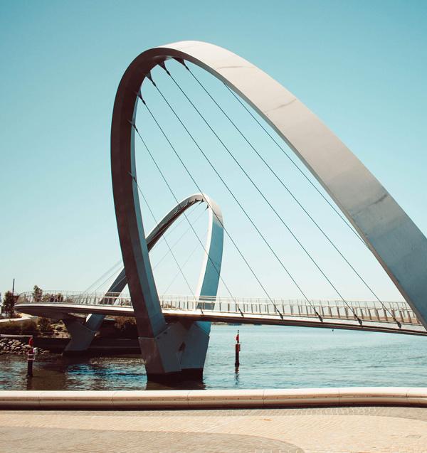 Bridge in Perth, Australia