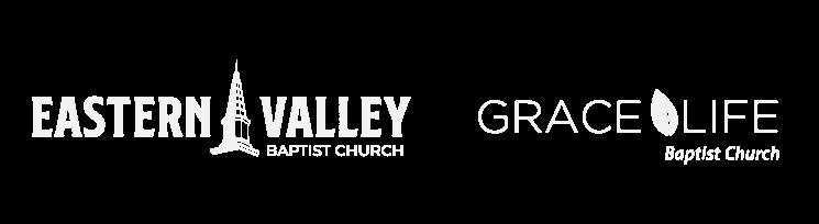 eastern valley baptist church and grace life baptist church logos