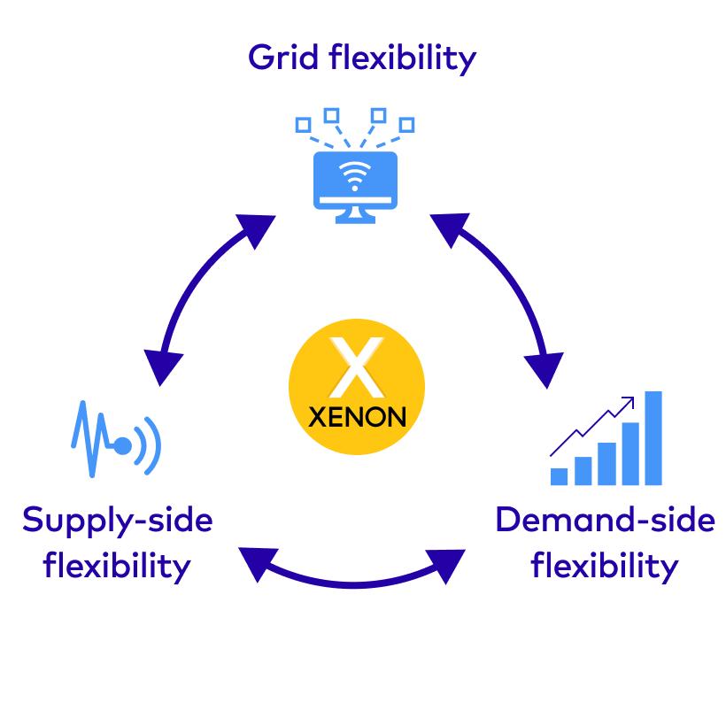 Enhancing grid flexibility, demand-side flexibility and supply-side flexibility