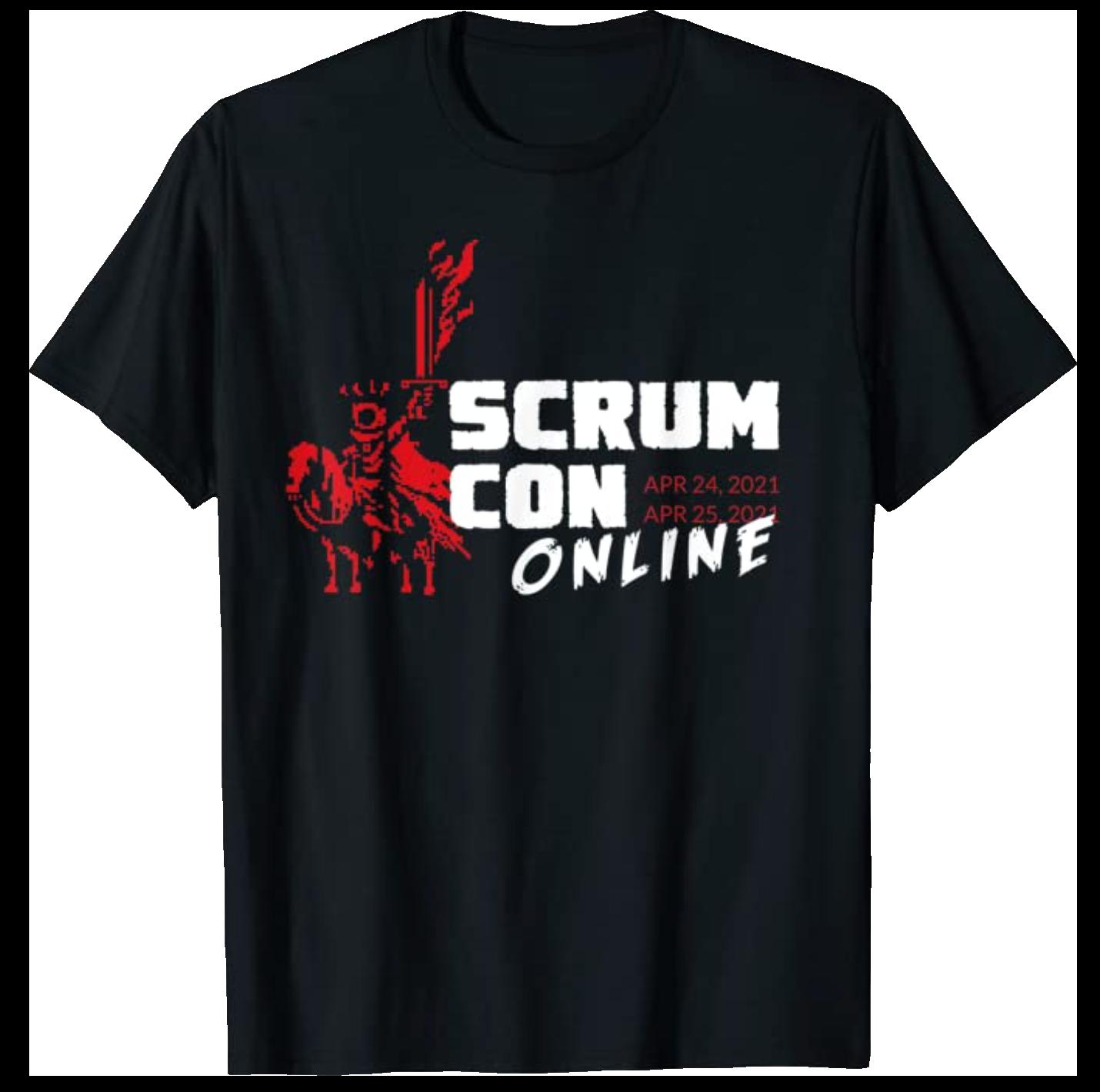 Scrum Con Online 2021 Tee