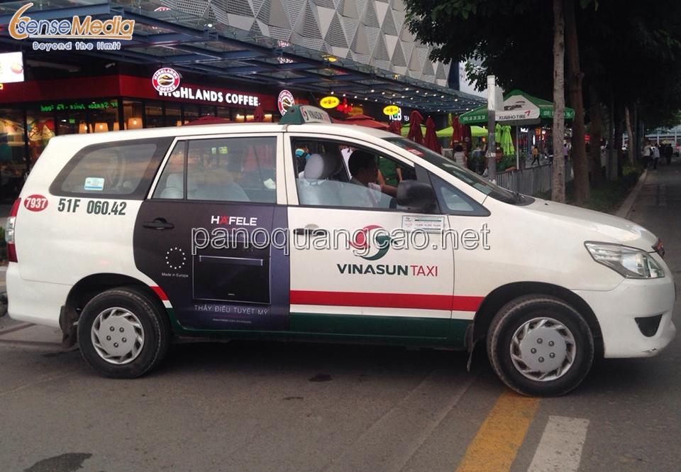Quảng cáo taxi Vinasun - Sự lựa chọn không thể bỏ qua!