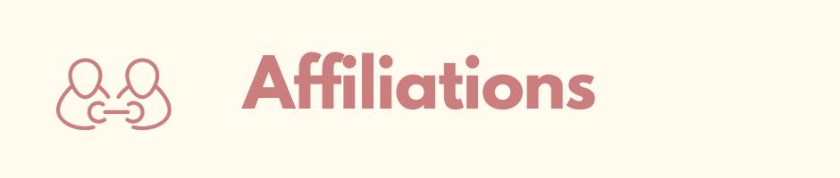 Affiliations Banner