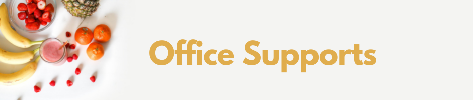 Office Supports Banner