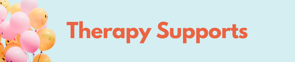 Therapy Supports Banner