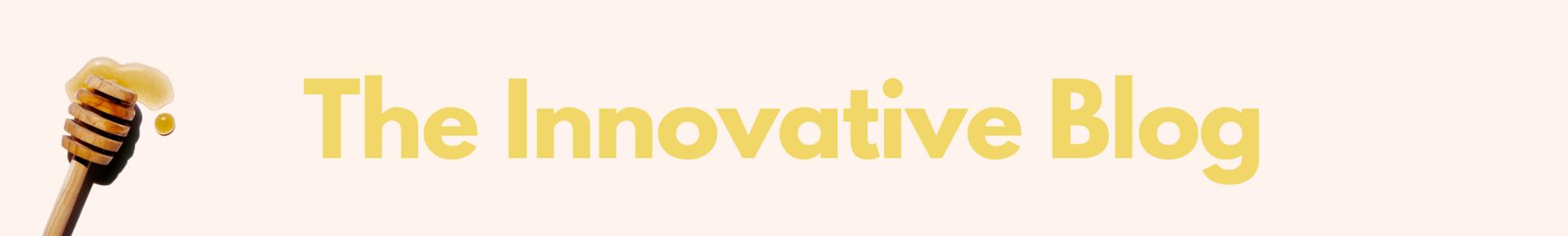 The Innovative Blog Hero Banner