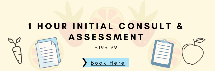1 Hour initial Consult & Assessment Banner