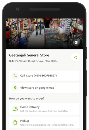 setup your online shop with BECH pos app
