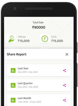 manage account, reporting & tax with BECH POS app