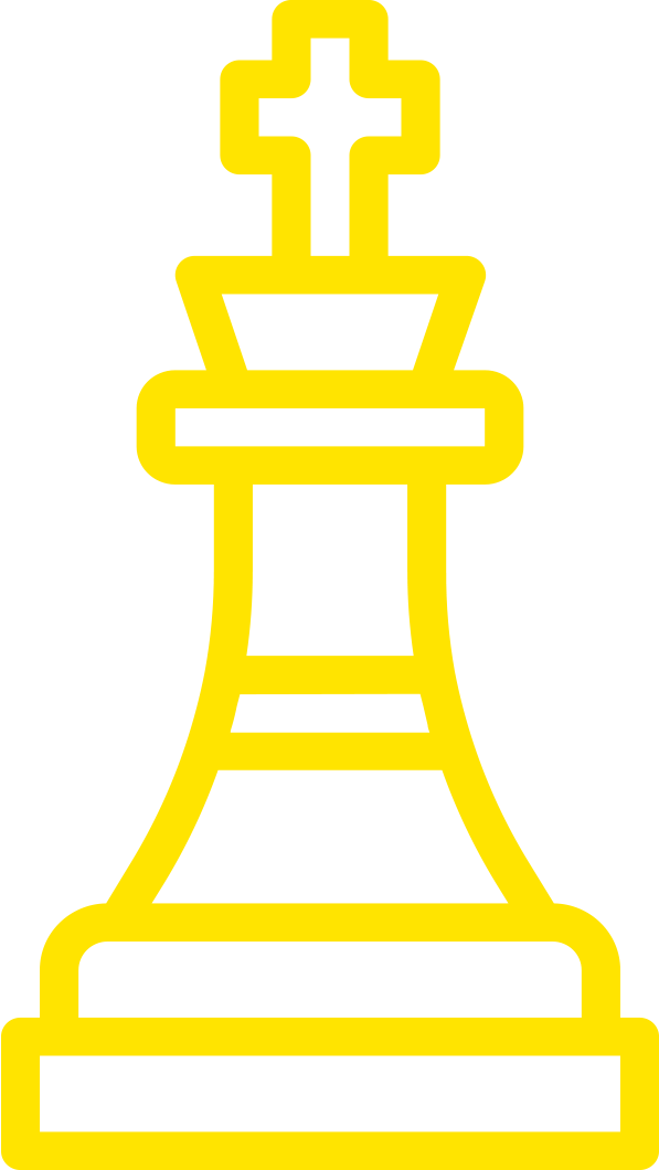 Drummer Strategy Icon Yellow