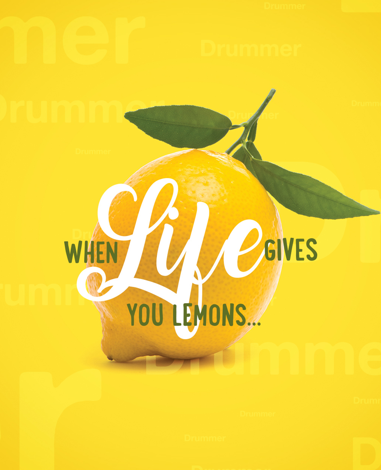 Samaritan's Purse When Life Gives You Lemons Creative