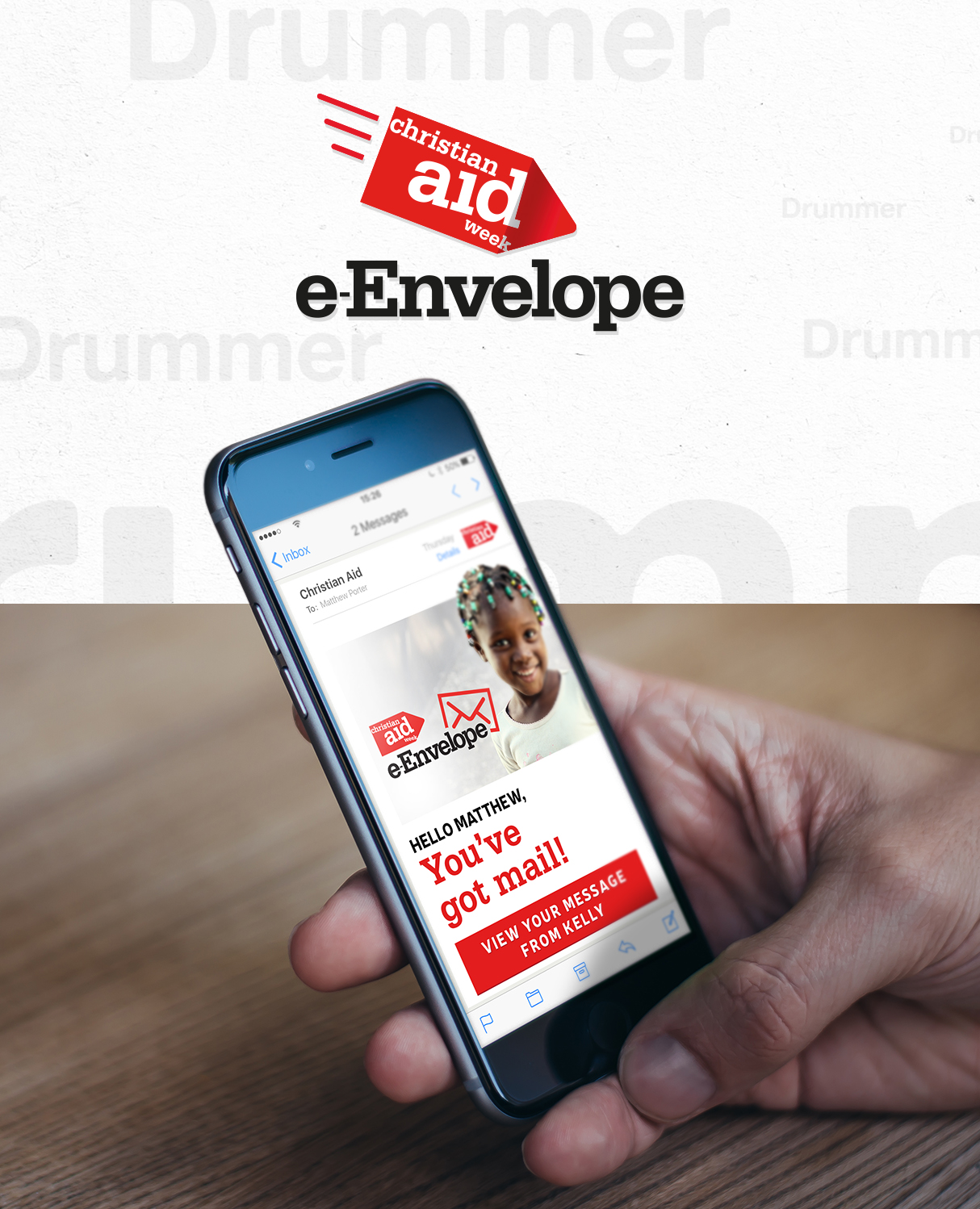 Christian Aid e-Envelope Creative