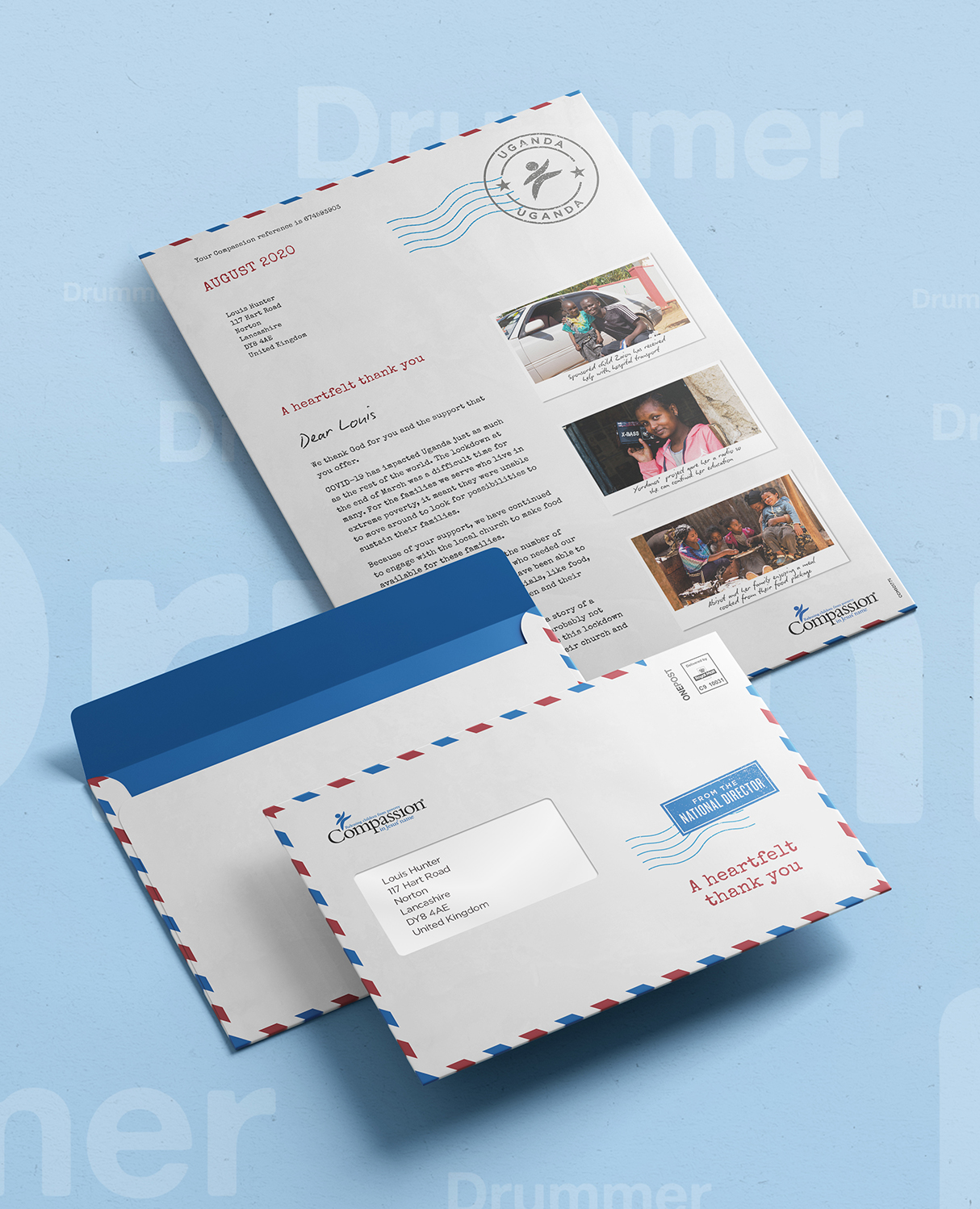 Compassion Director's Mailing Creative