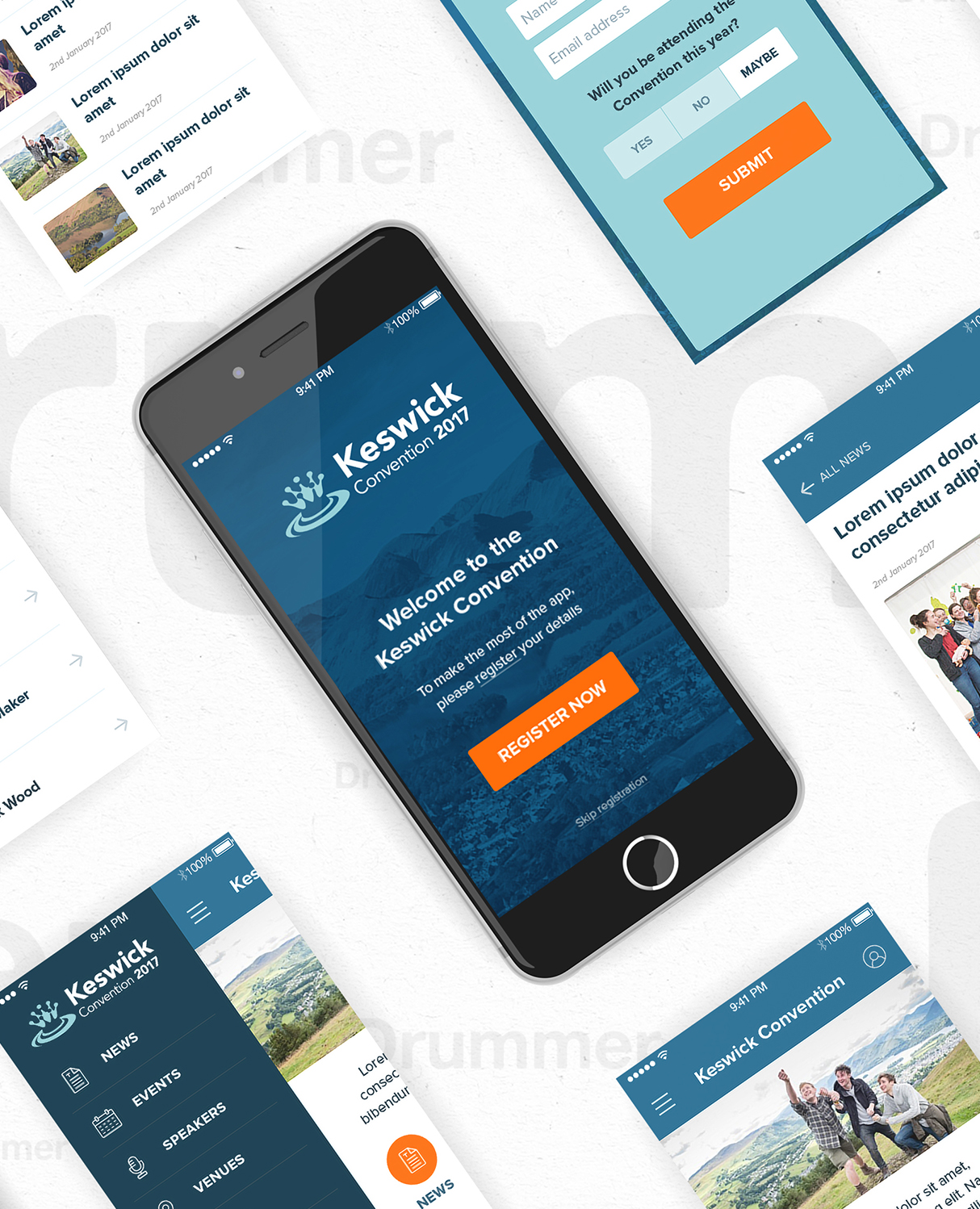 Keswick Convention App Creative