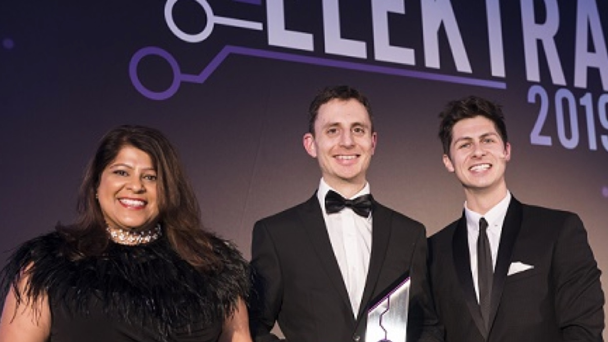 CircuitBuilder wins Startup of the Year at Elektra 2020