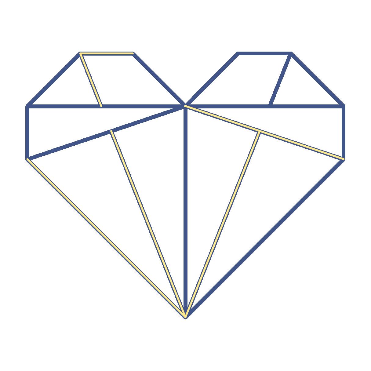 Shin.tsugi Kintsugi Heart Icon