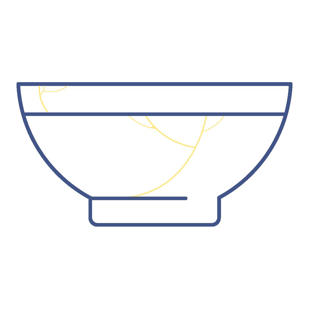Shin.tsugi Kintsugi Bowl Icon