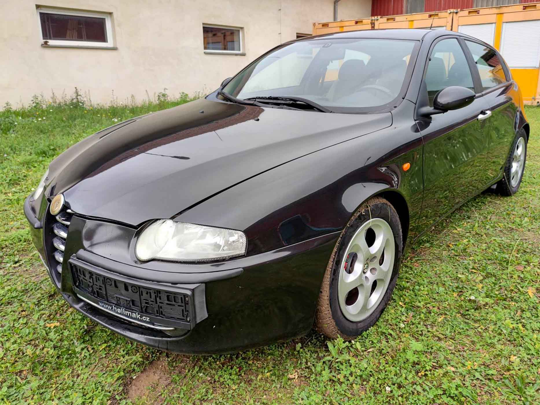 Alfa Romeo 147, www.swisscars.cz