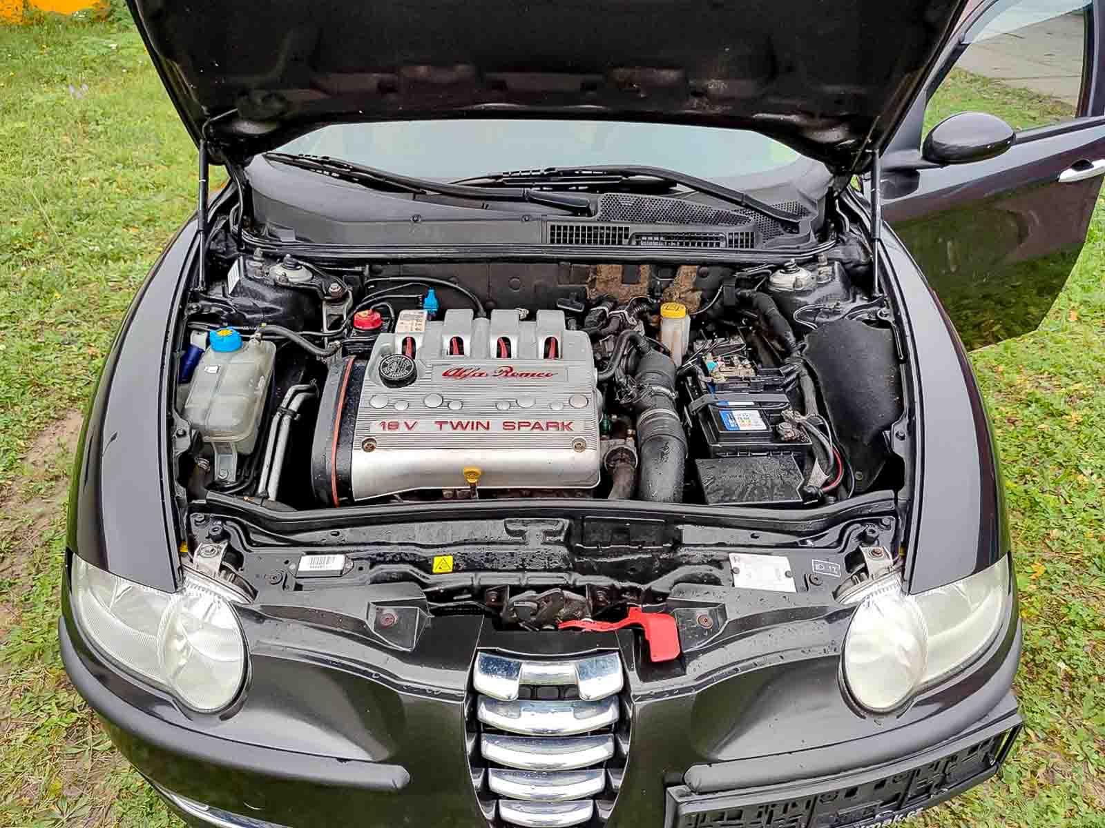 Alfa Romeo 147, motor