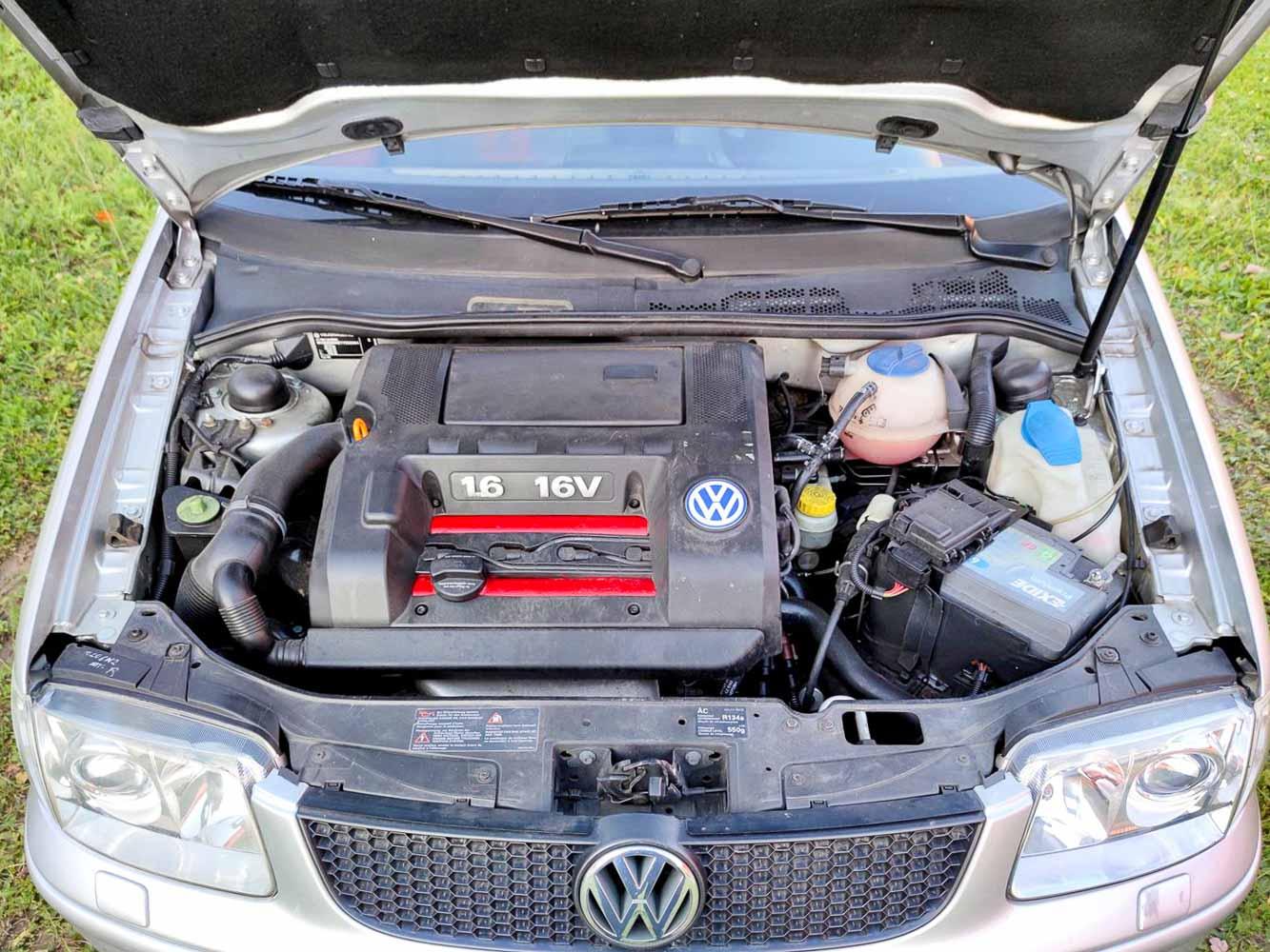 VW Polo GTi 1.6 16v motor