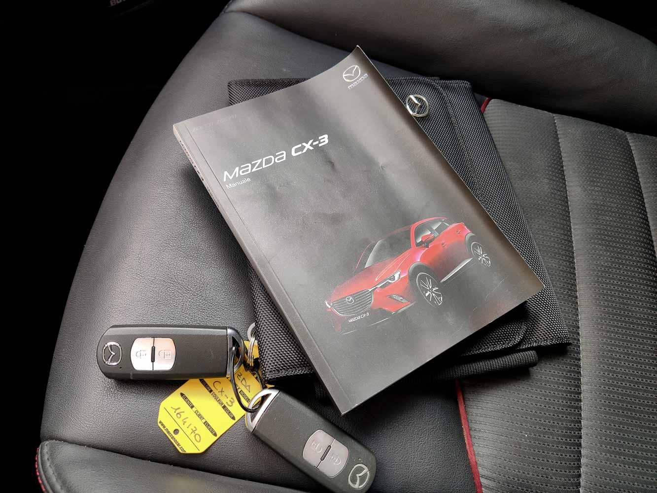 Mazda CX3 Skyactiv-D dokumentace