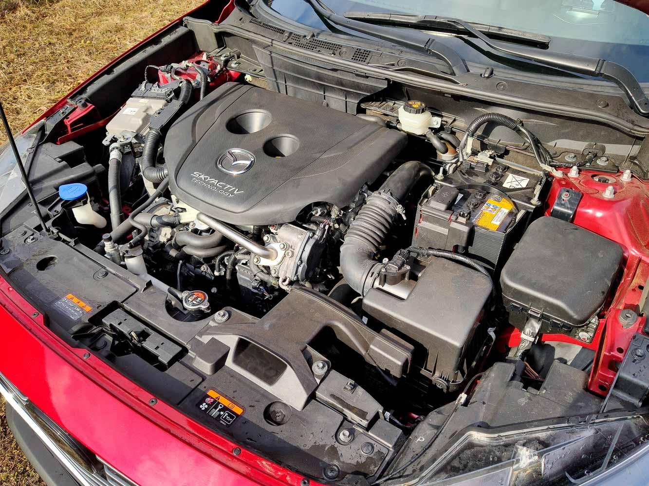 Mazda CX3 Skyactiv-D motor