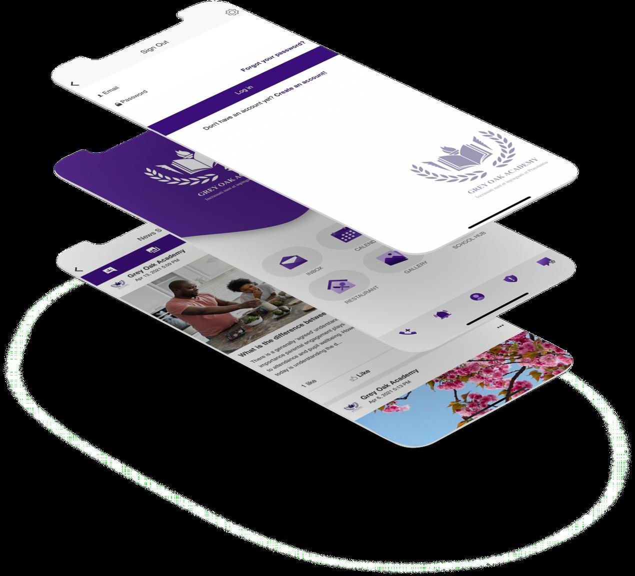 School App for Integration