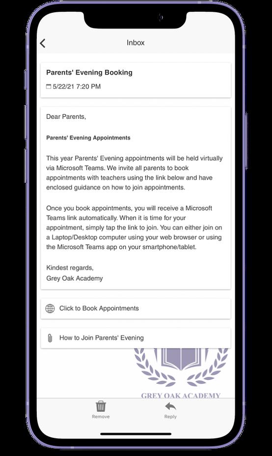School Parent Communication App