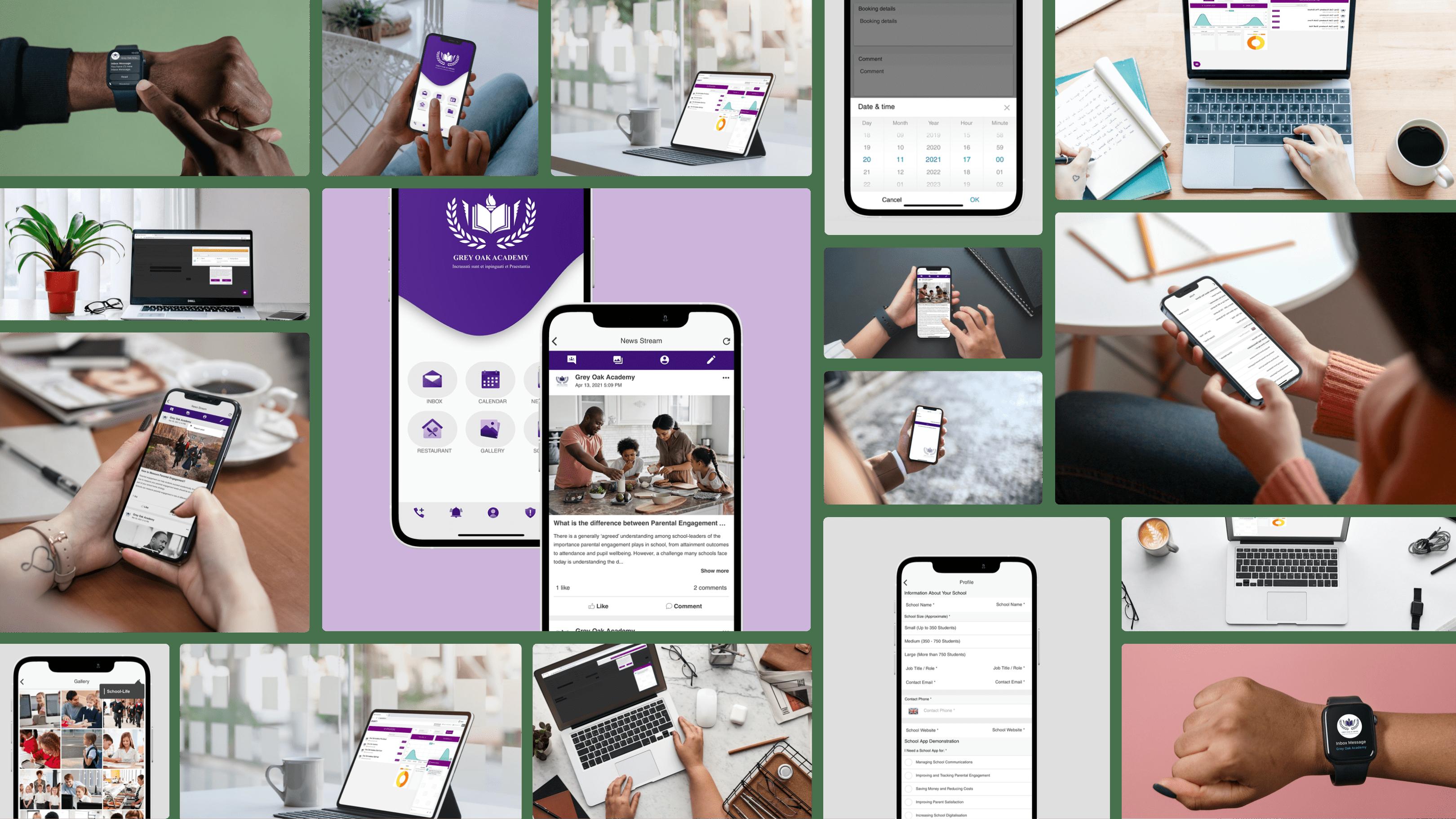 EdUnity School Communication and Parental Engagement App