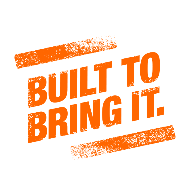 Home Depot — Built To Bring It identity