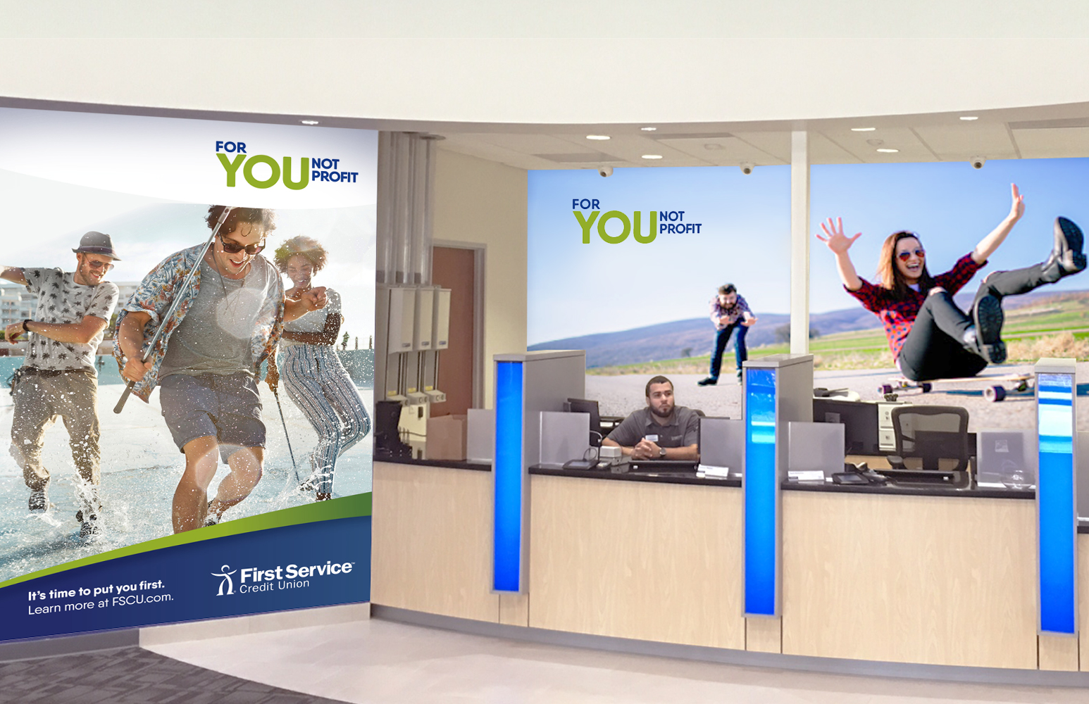 First Service Credit Union – Retail experience